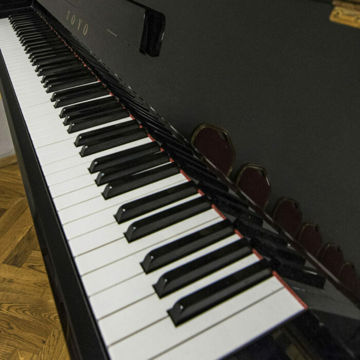 próby orkiestry - pianino wsali gabinetowej