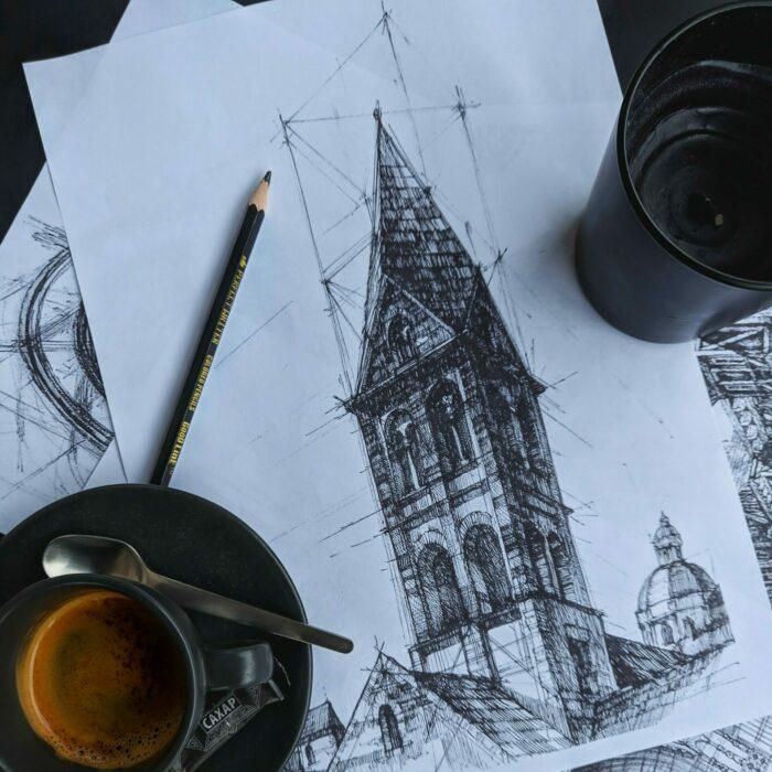 lekcje rysunku wRYNEK.przestrzeń